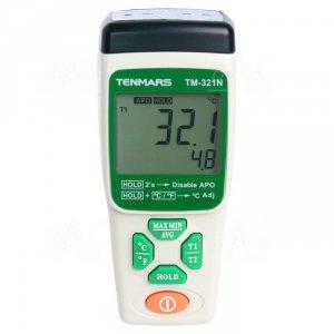 TM321N Termometr 2 kanały -200 do 1300°C TENMARS