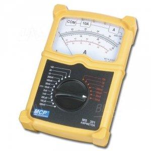 MS301 Amperomierz analogowy AC/DC