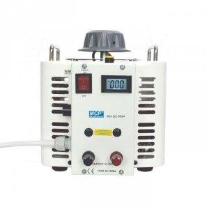 Autotransformator reg.  M10-522LCD-50 250V(260V)/20A 5kVA MCP