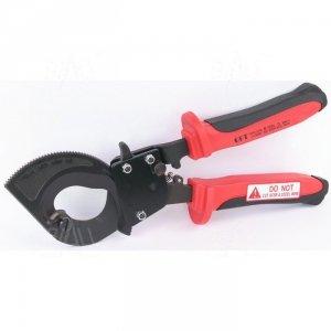 OPT LK300BV Nożyce z zębatką do kabli Cu/Al 300mm2 izolowane 1000V fi 32mm
