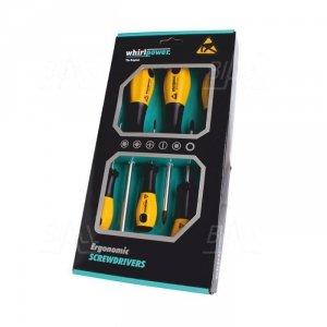Zestaw wkrętaków ESD SL(2,5x75;4,0x100;6,5x150) PH(0x60;1x80;2x100) WhirlPower   E11-0106