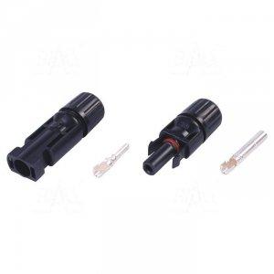 MC4 złącze (wtyk i gniazdo) na kabel solarny 4/6mm2 IP67