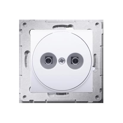 Gniazdo ekwipotencjalne do ramek Nature do ramek Premium (moduł) zaciski śrubowe 2.5, 4, 6 mm2, antybakteryjny biały