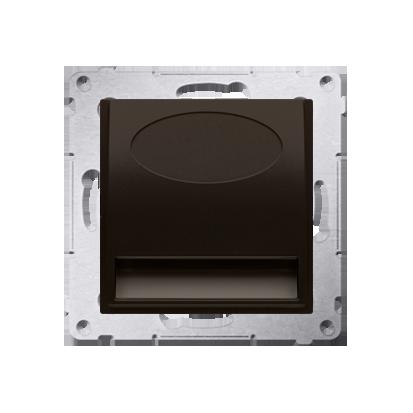 Oprawa oświetleniowa LED, 14V brąz mat, metalizowany