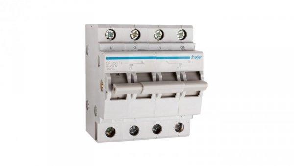 Przełącznik modułowy sieć-agregat 2P 63A SF263