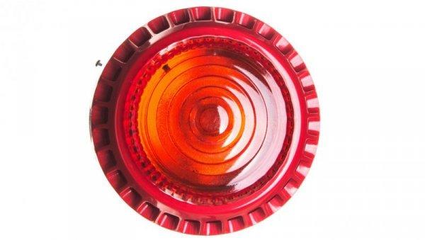 Sygnalizator akustyczno-optyczny 16-32,5V DC 100dB IP21C czerwony SA-K7