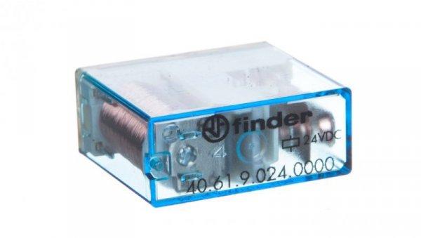 Przekaźnik miniaturowy 1P 16A 24V DC AgCdO 40.61.9.024.0000