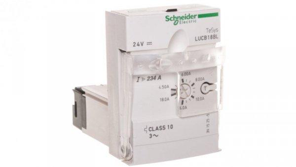 Blok wyzwalacza 3-biegunowy ochrona silnika 4,5-18A 24V DC LUCB18BL