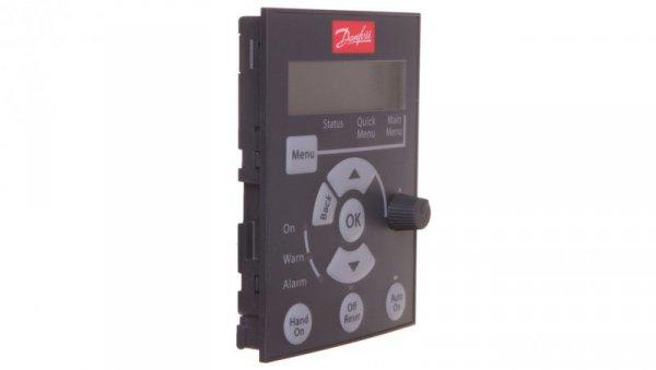 Panel sterujący do falowników VLT Micro Drive LCP 12 z potencjometrem 132B0101