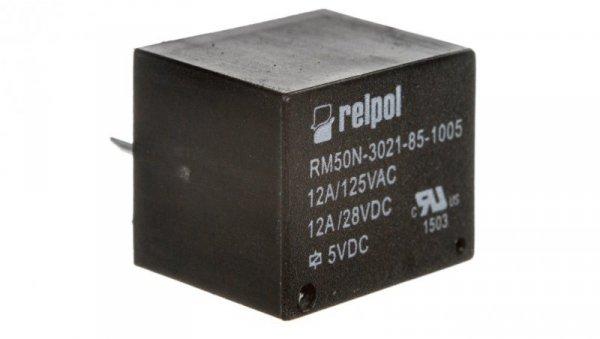 Przekaźnik miniaturowy 1Z 12A 5V DC PCB RM50N-3021-85-1005 2614655