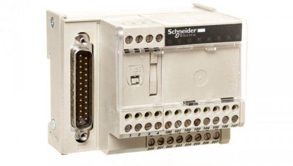 Złącze do wejść analogowych 4kanały SUB-D 25 ABE7CPA410