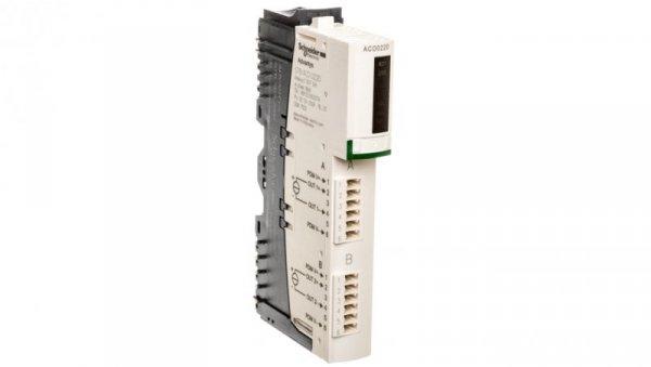 Moduł 2 wyjść analogowych 4-20mA 16 bitowy STBACO0220K