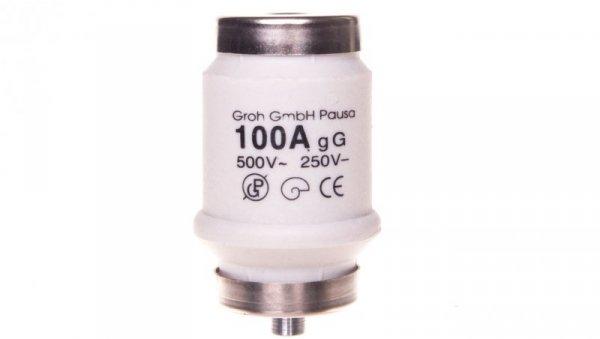 Wkładka bezpiecznikowa D 34x56mm DTIV zwłoczna 100A LDTIV100