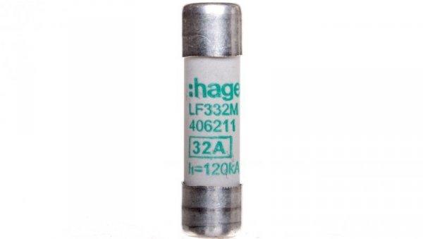 Wkładka topikowa cylindryczna 10x38 mm aM 32A 400V AC LF332M