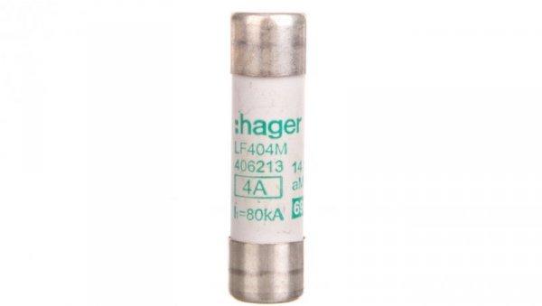 Bezpiecznik cylindryczny 14x51 aM 4A LF404M