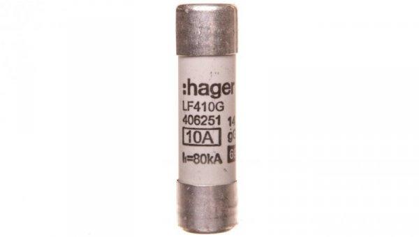 Bezpiecznik cylindryczny BiWtz 14x51 gG 10A LF410G /10szt./