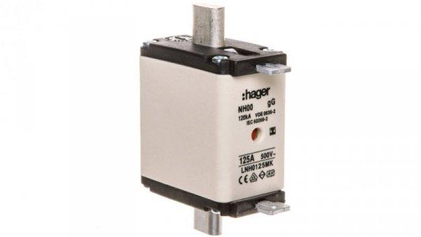 Wkładka bezpiecznikowa NH00 125A gG 500V WT-00 LNH0125MK