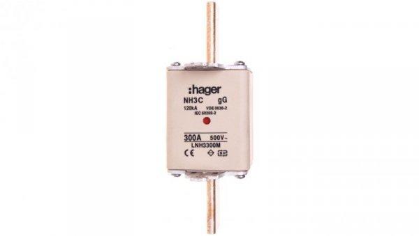 Wkładka bezpiecznikowa NH3C 300A 500V gG LNH3300M
