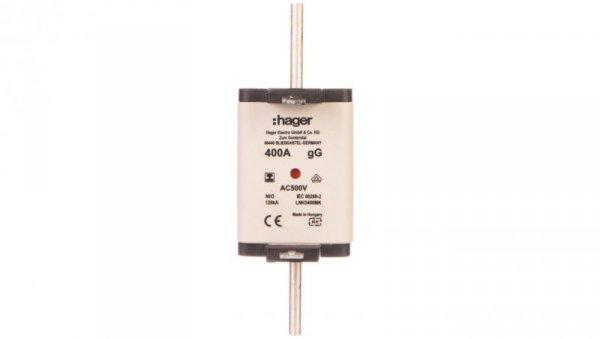 Wkładka bezpiecznikowa NH3 400A 500V gG LNH3400MK
