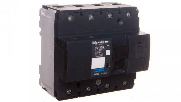 Wyłącznik nadprądowy 4P C 10A AC NG125N 18649