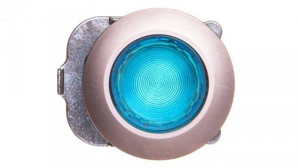 Napęd przycisku 30mm niebieski z podświetleniem bez samopowrotu metalowy matowy IP69k Sirius ACT 3SU1061-0JA50-0AA0