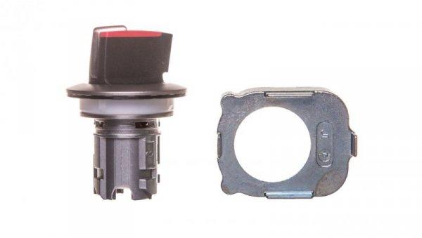 Napęd przełącznika 2 położeniowy O-I 30mm czerwony z podświetleniem z samopowrotem metal mat IP69k Sirius ACT 3SU1062-2DC20-0AA0