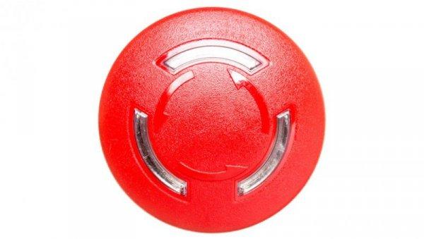 Napęd przycisku grzybkowego czerwony IP69k odbl. przez obrót z podświetleniem plastikowy Sirius ACT 3SU1001-1HB20-0AA0