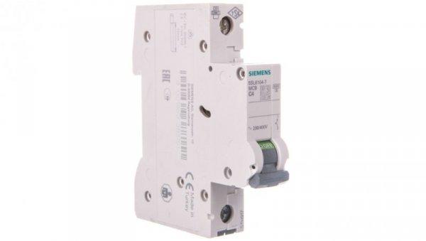 Wyłącznik nadprądowy 1P C 4A 6kA AC 5SL6104-7