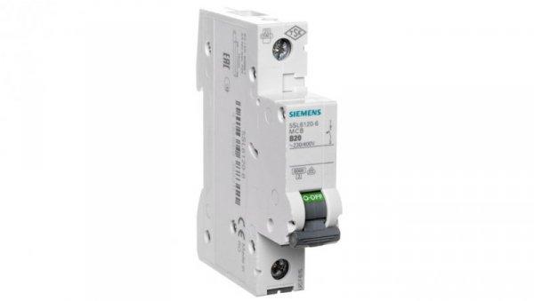 Wyłącznik nadprądowy 1P B 20A 6kA AC 5SL6120-6