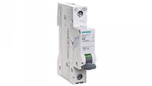 Wyłącznik nadprądowy 1P C 20A 6kA AC 5SL6120-7