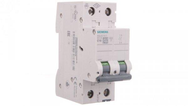 Wyłącznik nadprądowy 2P C 10A 6kA AC 5SL6210-7