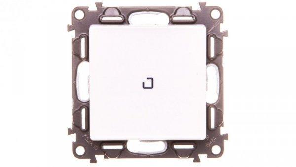 VALENA LIFE Łącznik jednobiegunowy z podświetleniem biały 752110