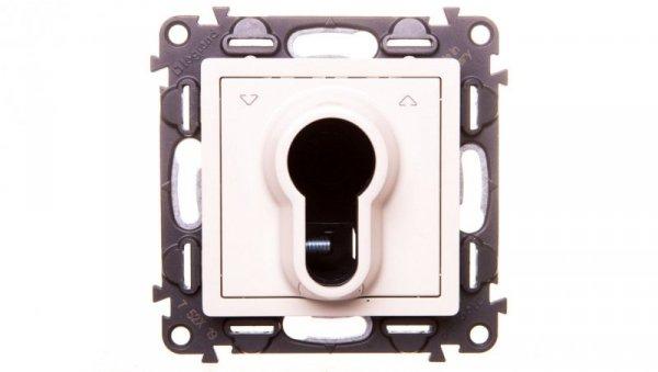 VALENA LIFE Przycisk na kluczyk 3-pozycyjny kremowy 752219