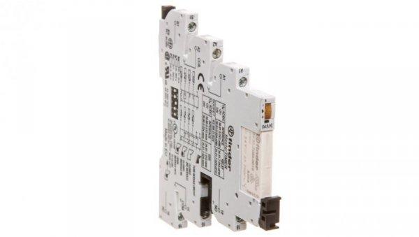 Przekaźnikowy moduł sprzęgający 6,2mm MasterTIMER wielofunkcyjny (AI DI GI SW BE,CE,DE,EE) 1P 6A 24VAC/DC 39.81.0.024.0060