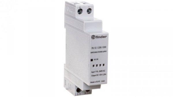 Zasilacz impulsowy modułowy 12W 12V DC 110-240V AC 78.12.1.230.1200