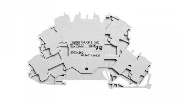 Złączka dwupiętrowa przelotowa 2002-2601