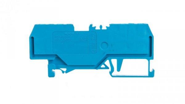 Złączka 4-przewodowa 1,5mm2 niebieska 279-834 /100szt./