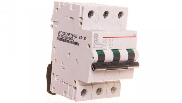 Wyłącznik nadprądowy 3P B 63A 6kA AC G63B63 674735