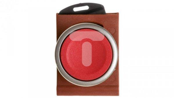 Przycisk płaski z ramką, metal czerwony P9MPNRG 184001