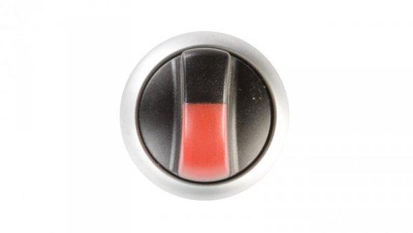 Napęd przełącznika 3 położeniowy czerwony z podświetleniem bez samopowrotu M22-WRLK3-R 216845