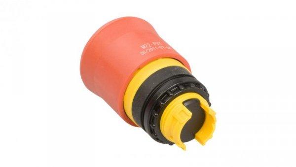 Napęd przycisku bezpieczeństwa czerwony przez obrót bez podświetlenia M22-PVT 263467