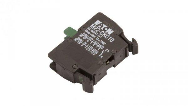 Styk pomocniczy 1Z montaż do ścianki tylnej M22-CKC10 216386
