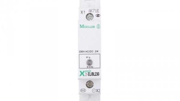 Lampka modułowa niebieska 110-240V AC/DC Z-EL/BL230 103131
