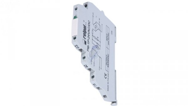 Przekaźnik interfejsowy 1P 6A 24V AC/DC AgSnO2 PI6-1P-24VAC/DC 858552