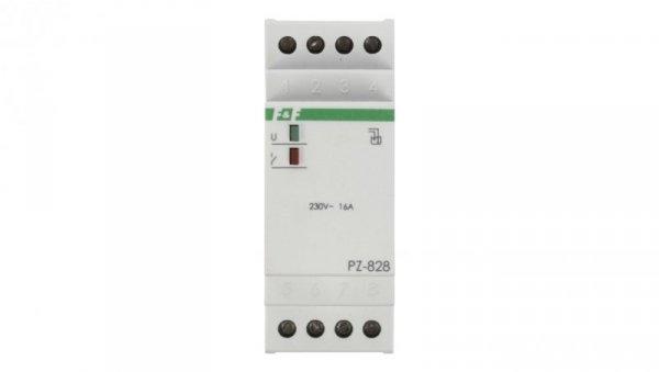 Przekaźnik kontroli poziomu cieczy 16A 1P 1-100kOhm PZ-828