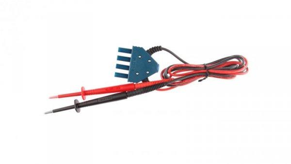Przewód pomiarowy 2,5kV /wtyk poczwórny/ WAPRZMIC2500