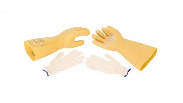 Rękawice elektroizolacyjne ELSEC 20 KV rozmiar 11 E06NR-03280100401