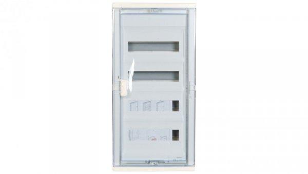 Rozdzielnica modułowa 4x12 podtynkowa IP40 RWN (drzwi transparentne) 602424