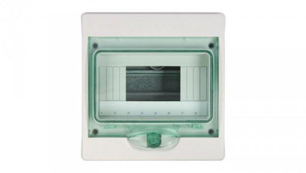 Rozdzielnica modułowa 1x8 natynkowa IP65 Mini Kaedra 13959