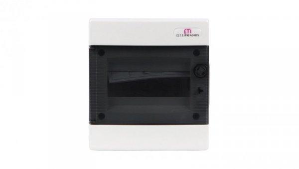 Rozdzielnica modułowa 1x8 podtynkowa /transparentna/ IP40 ECM8PT DIDO 001101010
